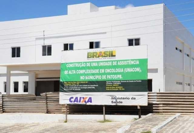 PB recebe R$ 8 mi para custeio de Unidade de Oncologia de Patos