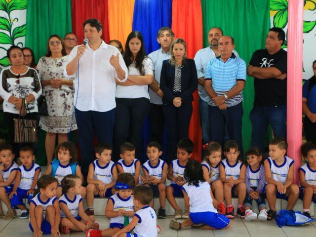 Em Patos: Comunidade comemora reabertura da creche Maria Gomes no distrito de Santa Gertrudes