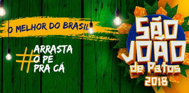 São João 2018 de Patos tem shows de Xand Avião e Dorgival Dantas nesta quarta-feira