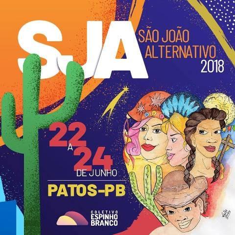 Em Patos: VI Edição do São João Alternativo acontece de 22 a 24 de junho