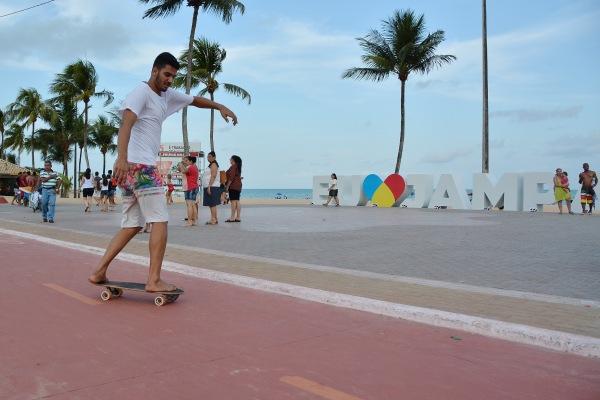 Considerada a orla mais bonita do Nordeste, João Pessoa recebeu destaque internacional