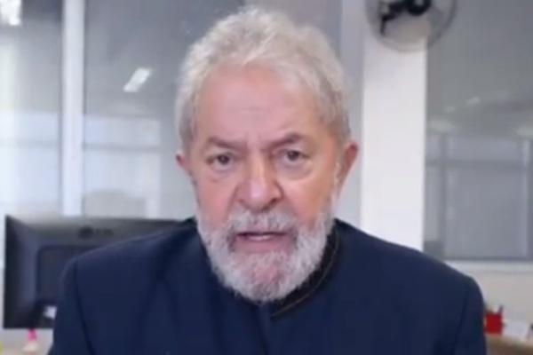Preso há 100 dias, Lula diz em vídeo ser 'sonho de consumo de Moro'; veja vídeo