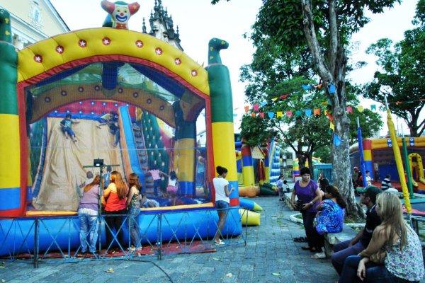 Termina nesta quarta-feira prazo para cadastramento dos donos de parques de diversões para trabalhar na Festa das Neves 2018