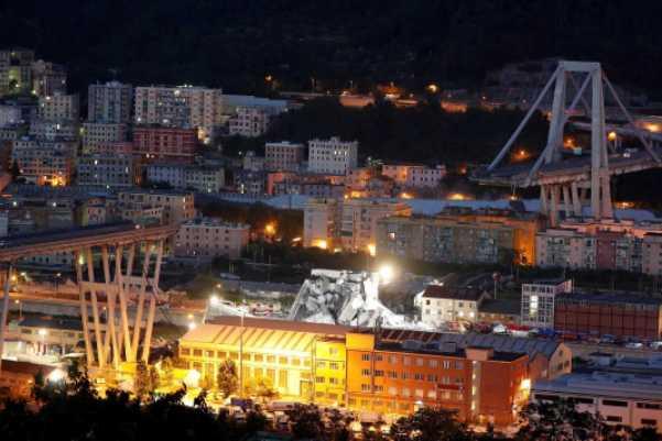 Sobe para 38 o número de mortos na queda de ponte em Gênova