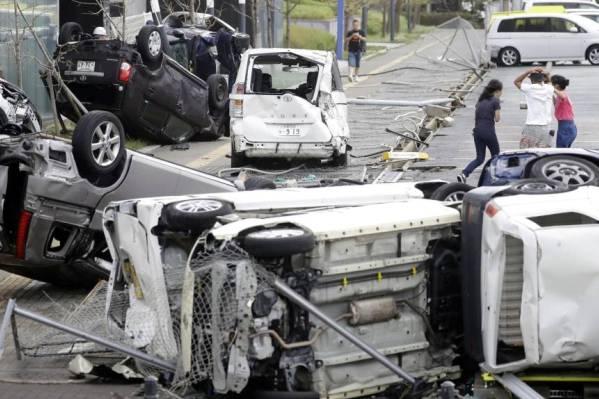 Tufão mais forte em 25 anos atinge o Japão e deixa ao menos 6 mortos