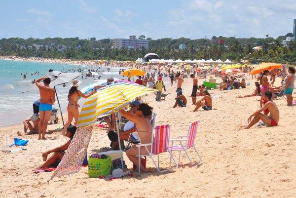 Seis praias do litoral da Paraíba devem ser evitadas neste final de semana, alerta Sudema