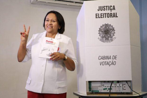Paraibana é eleita governadora do Rio Grande do Norte