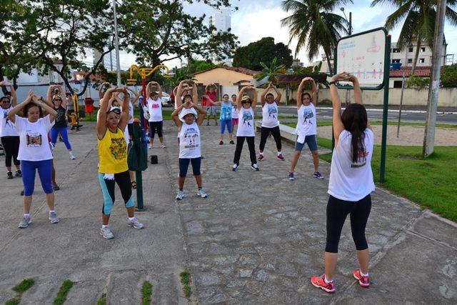 Projeto João Pessoa Vida Saudável promove a saúde por meio de atividades físicas