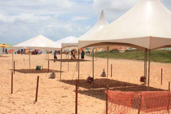 Começa hoje cadastro para instalação de tendas para o Réveillon na praia de João Pessoa