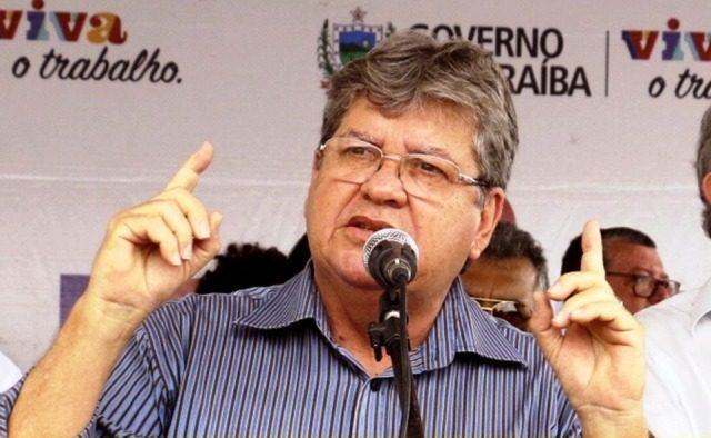Decidido a ignorar crise no PSB, João inaugura nesta sexta duas importantes obras no Curimataú