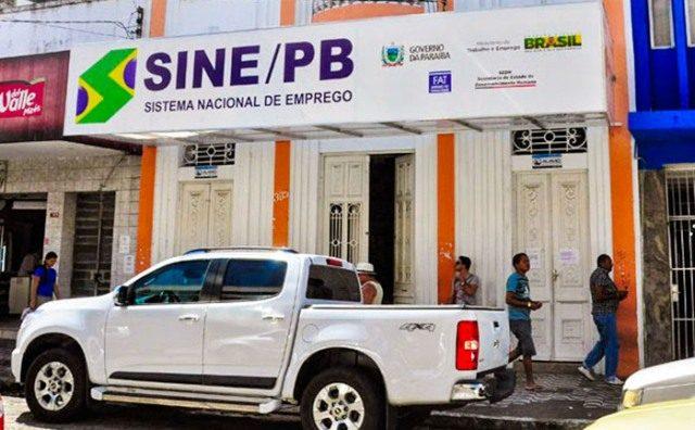 Sine-PB oferece 214 oportunidades de emprego a partir da próxima segunda-feira