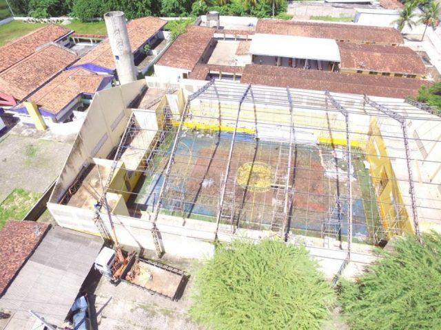 Prefeito de Rio Tinto aguarda liberação de R$ 326 mil da Caixa para iniciar reforma do Gerbasão