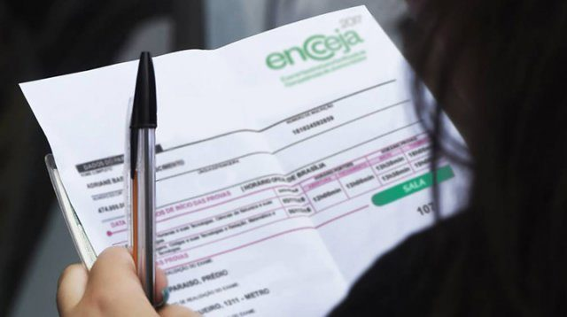 Cartão de confirmação do Encceja já está disponível