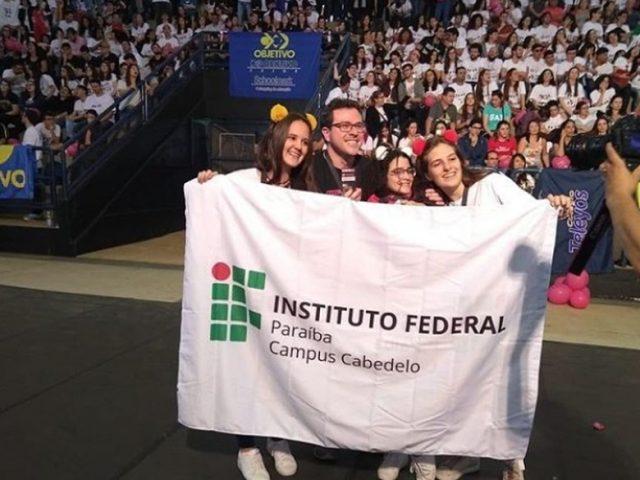 Paraibanos conquistam medalha de prata na 11ª Olimpíada Nacional de História, em São Paulo