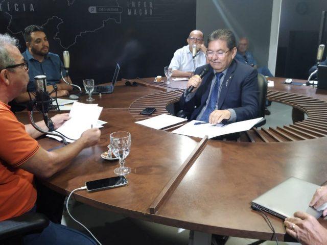 """Adriano Galdino diz que Ricardo é o melhor candidato à PMJP e que CPI da Energisa ainda é uma """"lenda"""""""