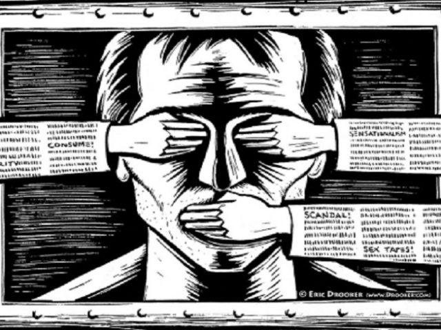 Brasil é o 3º país com maior queda na liberdade de expressão, aponta relatório